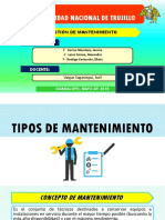Tipos de Mantenimiento Point