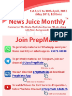 News Juice Monthly May Edition 2018