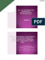 INTEGR PSICODIAGN Unidad 3 - DSM-IV y Tests Psicologicos