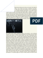 Historias Del Metal y Hockey