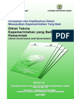 Modul 1 Eselon 3 - Good Governance