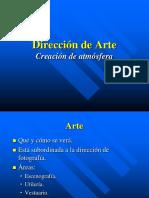 La Dirección de Arte