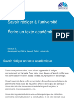 Module 5 - Academic writing - French.pptx