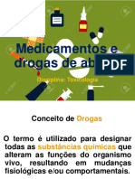 Aula 6 Medicamentos e Drogas de Abuso