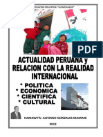 Realidad Peruana Ultimo 2012