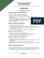 Programa ESTABILIDAD I - Ing. Mecánica
