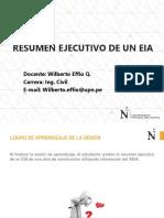 Sesion 4 - Analisis Del Resumen Ejecutivo de Un EIA