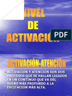 Nivel de Activación