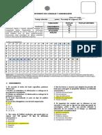 Fila b Prueba Coeficiente Dos
