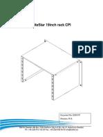 SiteStar 19-Inch Rack CPI Rev PA2 DN0936012 1 0