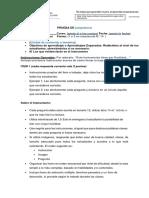 Formato Para Realizar Pruebas Escritas 2018