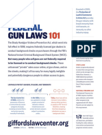 Federal Gun Laws 101 Factsheet GLC