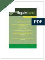 Register Journal Iain Salatiga Vol 9 No 1 Year 2015