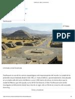 Teotihuacan. Sitios y Exposiciones