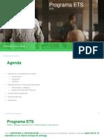 Programa ETS - 2016