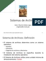 02A Sistemas de Archivos