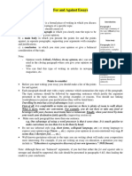 For and Against Essays.pdf