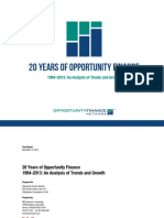OFN 20 Years Opportunity Finance Report