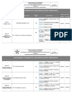 Cronograma Arquitectura de Pc II