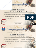 Diplomas Declamacion