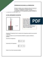 Ecuaciones Diferenciales Aplicadas a La Temperatura