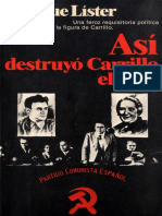Así Destruyó Carrillo El PCE - Imagen - Digitalizado