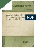 Carátula_Acceso a La Justicia_mujeres Indígenas CMI WP