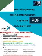 Refinación  de petroleo