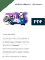 Plano de Lubrificação de Máquinas e Equipamentos - Blog Manutenção Em Foco