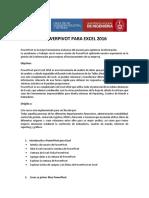 Excel Powerpivot Online