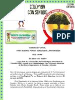 Comunicado Oficial Foro Dn (Autoguardado)
