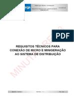 035-01-08 Requisitos Técnicos Para Conexão Da Micro e Minigeração_RV3