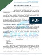 Aula 16 - Centralização, descentralização e desconcentração.pdf