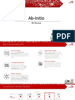 Ab Initio Review