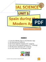 Student's Booklet - Spain During the Modern Age