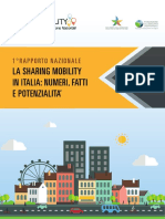 Sharing Mobility Italy-milano