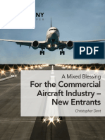 A Mixed Blessing for the Commercial Aircraft Industry