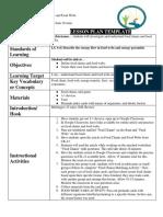 lesson plan portfolio ready