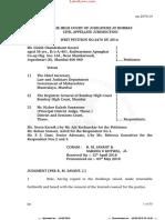 Bombay HC Judgment on Conduct of Civil Judge