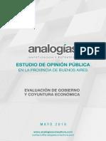 Analogías - Estudio PBA Mayo 2018