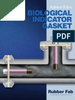 Biological Indicator Gasket Folleto Rubber Fab