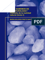 QUE SABEMOS de LA NATURALEZA Filosofia de La Realidad Natural Tomo I.pdf