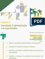 PPTs - Capítulo 1- Introdução à Administração e Às Organizações