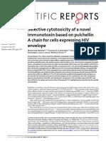 Scientific Reports Volume 7 issue 1 2017 [doi 10.1038%2Fs41598-017-08037-3] Sadraeian, Mohammad; Guimarães, Francisco E. G.; Araújo, Ana P -- Selective cytotoxicity of a novel immunotoxin based on pul.pdf