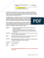 Guía de Práctica 3. Botánica. Células. UCSUR. Damian & Janovec 2018 I