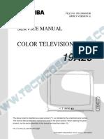 9114 Toshiba 19A26 Manual de Servicio