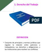 3. DEFINICION DEL DERECHO DE TRABAJO.ppt