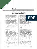 Rohypnol and GHB
