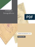 Catalogo Estudios Fotograficos.imagen Publicitaria en El s Xix