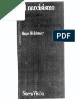 El Narcisismo Estudio Sobre La Enunciacion y La Gramatica Del Inconciente Editado PDF